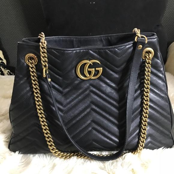 a05fd9b3e Gucci Bags | Authentic Apollo Trap Chevron Gg Handbag | Poshmark